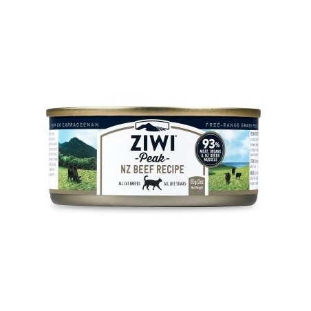 ZiwiPeak Moist Cat wołowina 85g