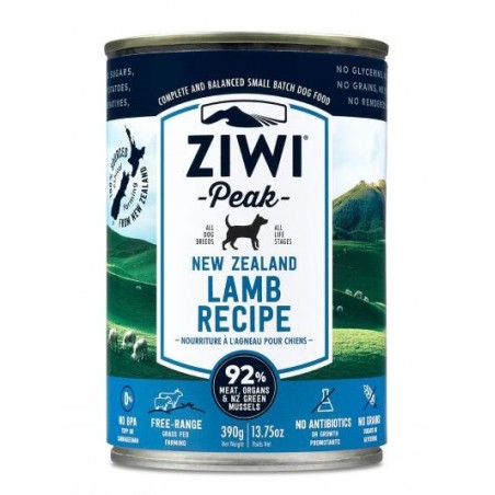 ZiwiPeak Canned Dog Food Lamb - jagnięcina