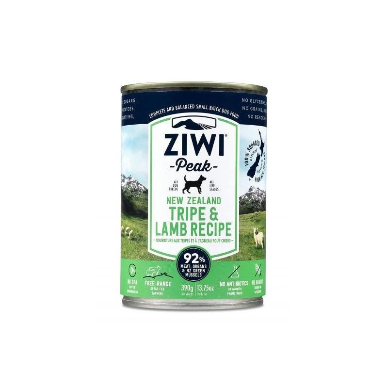 ZiwiPeak Canned Dog Food Tripe & Lamb - żwacze z jagnięciną