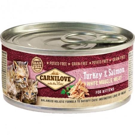 Carnilove Kitten Indyk i łosoś