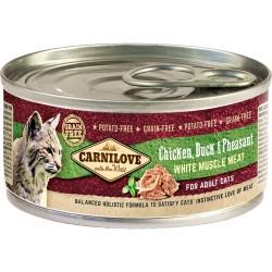Carnilove Cat kurczak, kaczka i bażant