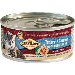 Carnilove Cat Indyk i łosoś