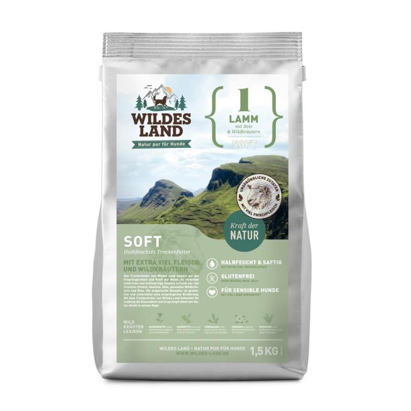 Wildes Land - soft Jagnięcina z ryżem i ziołami 5 kg