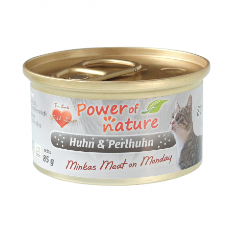Power of Nature Minkas Meat on Monday - kurczak i perliczka 85g