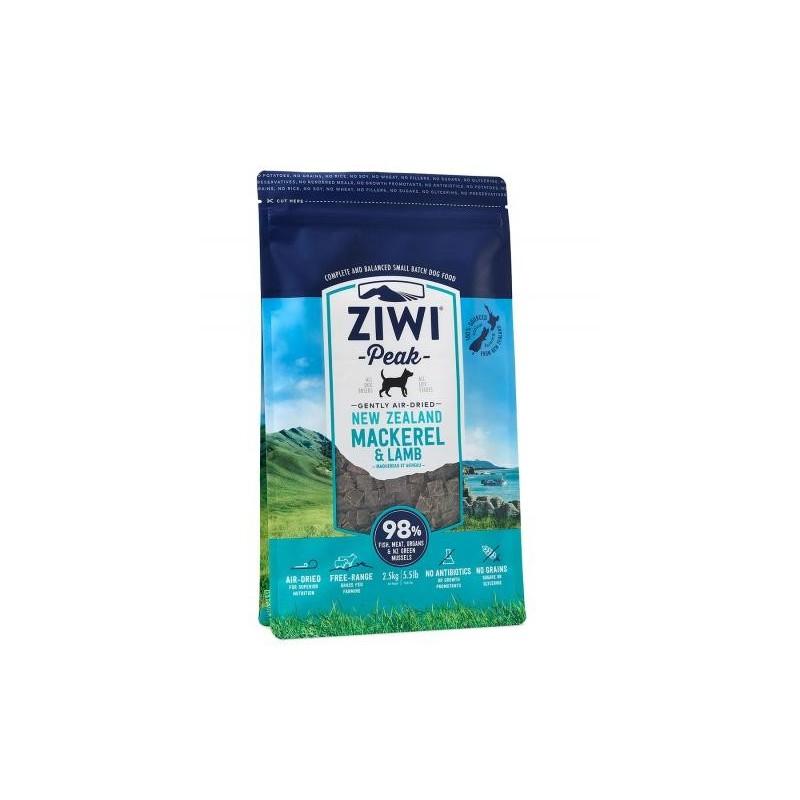ZiwiPeak Air Dried Dog Food Mackerel & Lamb Makrela z jagnięcina 2,5 kg
