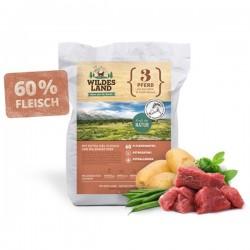Wildes Land - sucha karma Konina z ziemniakami