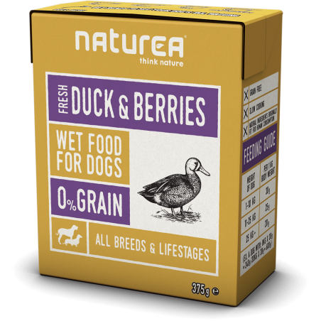 Naturea Duck and Berries - kaczka z jagodami