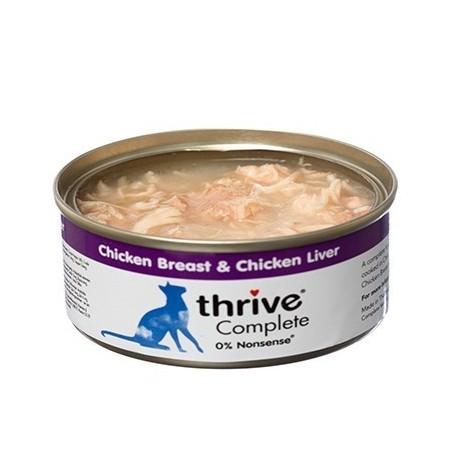Thrive complete - pierś kurczaka z wątróbką