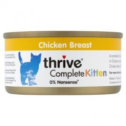 Thrive complete kitten - pierś kurczaka dla kociąt