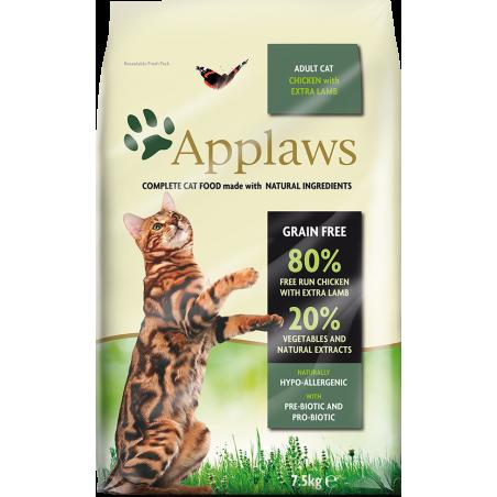 Applaws Cat kurczak z jagnieciną uszodzona