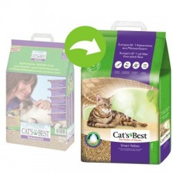 Żwirek Cats Best Nature Gold 10l