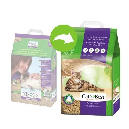 Żwirek Cats Best Smart Pellets 10l