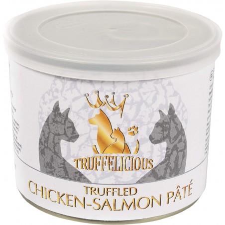 Truffled Chicken - Salmon pate - pasztet kurczak z łososiem