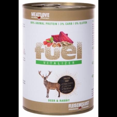 Meatlove Fuel Paleo Vitalizer 410g - jeleń i królik