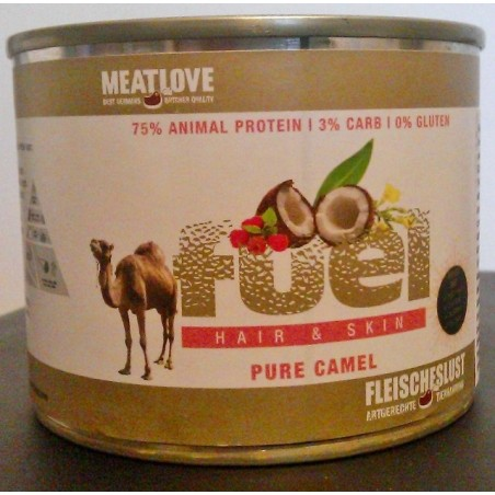 Meatlove Fuel Paleo Hair and skin 200g - wielbłąd