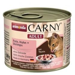 Animonda Carny Adult Indyk, Kurczak, Krewetki 200g