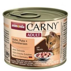 Animonda Carny Adult kurczak, indyk i serca kacze
