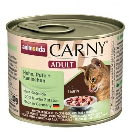 Animonda Carny Adult Kurczak, Indyk i królik