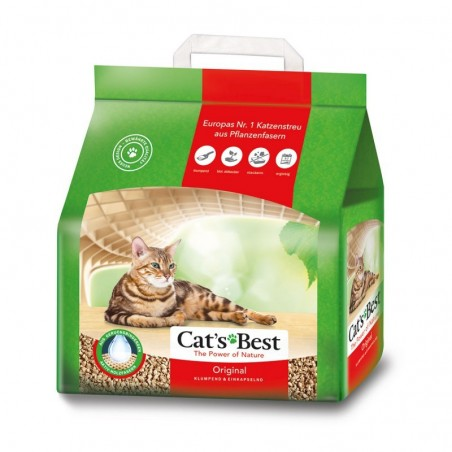 Żwirek Cats Best Original 10l + 2 l gratis