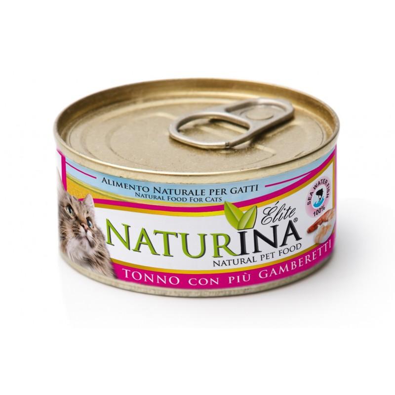 Naturina tuńczyk z krewetką 70g