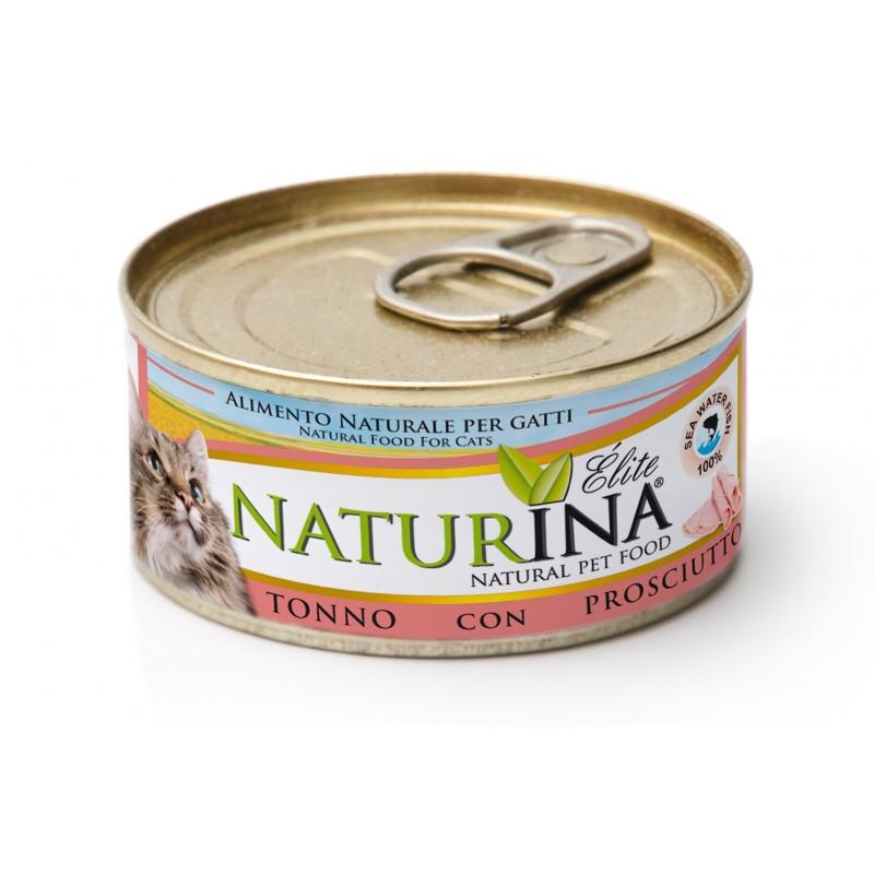 Naturina tuńczyk z szynką prosciutto 70g