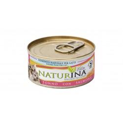 Naturina tuńczyk z łososiem 70g