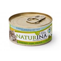 Naturina tuńczyk z oliwkami 70g
