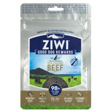 ZiwiPeak Beef good Dog Rewards 85g przysmak wołowina