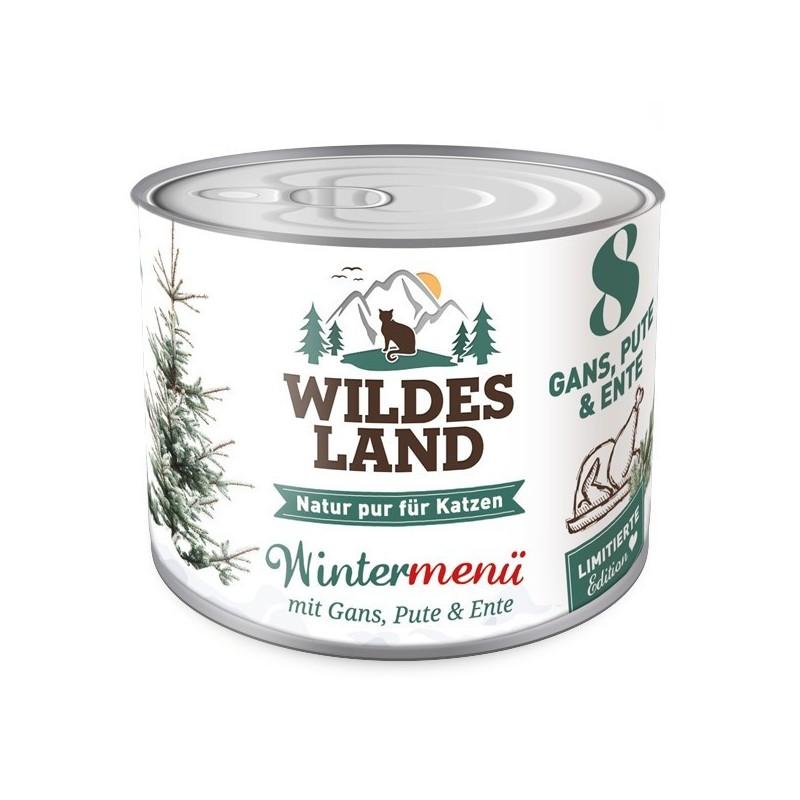 Wildes Land Wintermenü Gans, Pute und Ente - gęś, indyk, kaczka