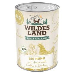 Wildes Land Dog Bio Hunh - kurczak z amarantem 400g