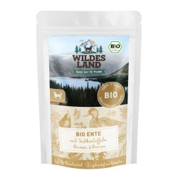 Wildes Land Dog Bio Ente - kaczka z batatami