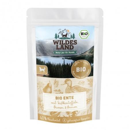 Wildes Land Dog Bio Ente - kaczka z batatami 125g