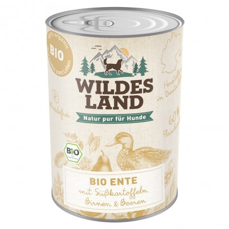 Wildes Land Dog Bio Ente - kaczka z batatami 400g