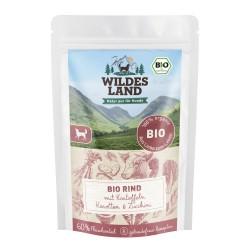Wildes Land Dog Bio Rind - wołowina z ziemniakami