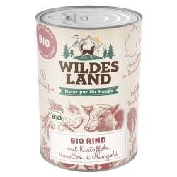 Wildes Land Dog Bio Rind - wołowina z ziemniakami 400g