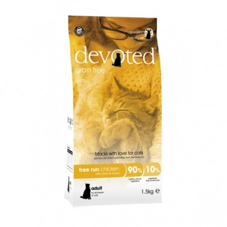Devoted Cat Free Run Chicken 1,5 kg