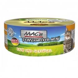 MAC's Feinschmecker Cielęcina z drobiem 100g