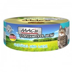 MAC's Feinschmecker Drób i łosoś 100g