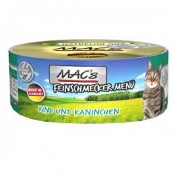 MAC's Feinschmecker Wołowina z królikiem 100g