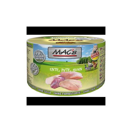 MAC's Kaczka, indyk z kurczakiem 200g