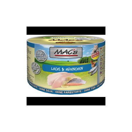 MAC's Kurczak i łosoś 200g