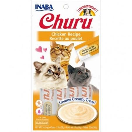 Churu przysmak dla kotów Kurczak 4x14g