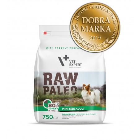 Raw Paleo dla psów dorosłych małych ras 750g