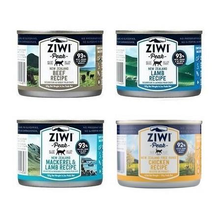 ZiwiPeak Daily Cat zestaw 4 smaków 185g