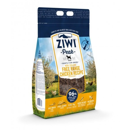 ZiwiPeak Air Dried Dog Free Range Chicken - kurczak 1 kg