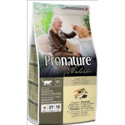 Pronature Holistic Cat Senior Oceanic White Fish&Wild Rice