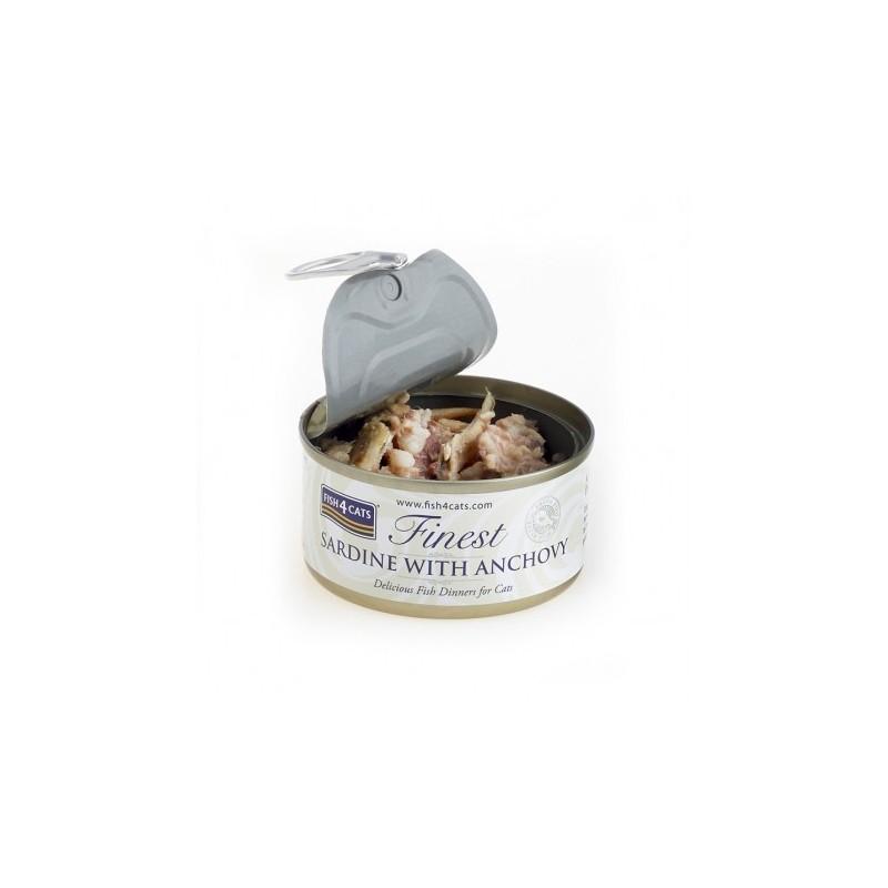 Finest Fish4Cats Filety Sardynka z Anchois