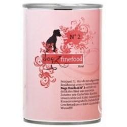 Dogz Finefood nr. 02 wołowina puszka 400g