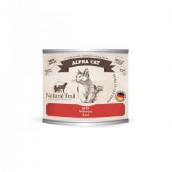 Natural Trail Alpha Cat - wołowina 200g