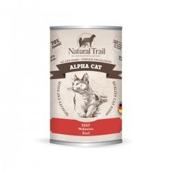 Natural Trail Alpha Cat - wołowina 400g